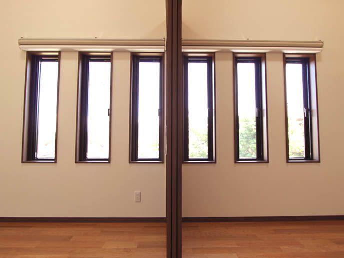 子供部屋は可動式間仕切りでいつでも 広いスペースとして利用できます。